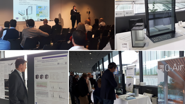 Q-Air at the international Conference on Advanced Building Skins in Switzerland