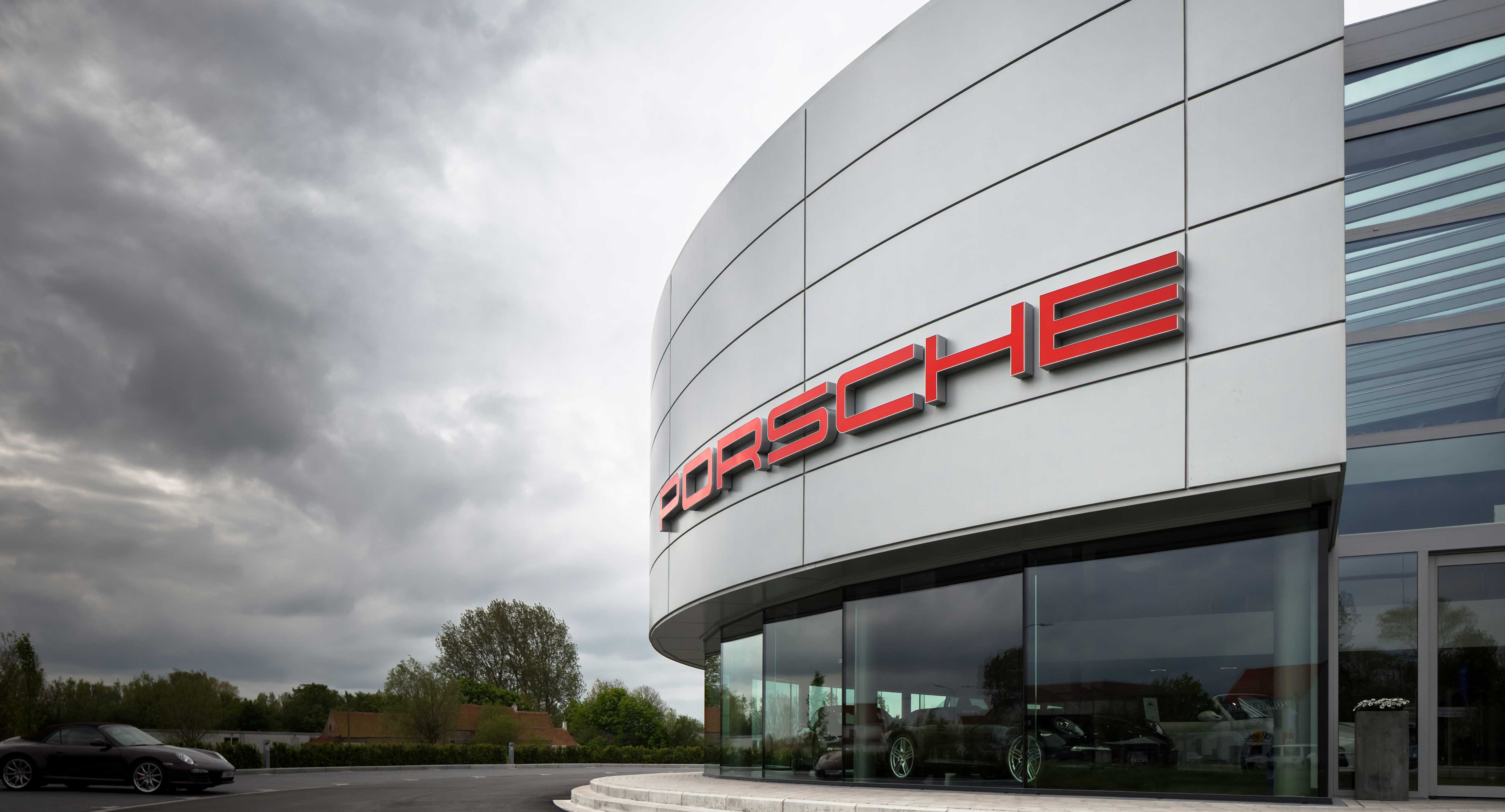 Porsche Car Showroom Knokke
