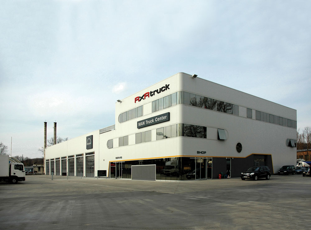 New Technical and Service Park of Trucks in Ostrava