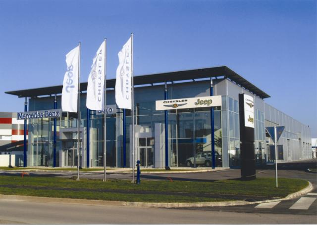 Car Showroom and Sales Centre Mercedes-Benz