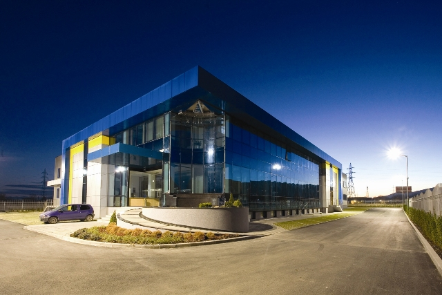 Industrial Enterprise, Warehouse and Office Building Argogroup-exact